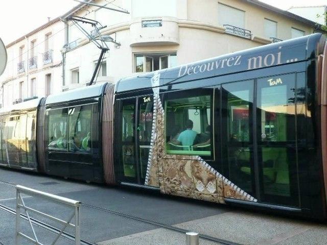 Montpellier Tram ligne 4 (journée des transports publics)