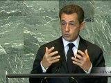 Intervention de N. Sarkozy : 66e assemblée générale des Nations Unies