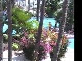 Hotel pool, Acapulco Mexico
