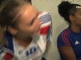 HandTV - World Cup - 22/09/11 - Dans les vestiaires des Bleues