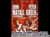 Blues Guitar Backing Jam Track in C - Peter Green Style