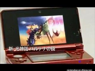 Promo des futurs jeux 3DS au Japon de