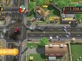 Burnout CRASH! PS3 Demo Gameplay - Windrush Road - Road Trip Mode