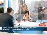 Invités Ruth Elkrief : Najat Vallaud Belkacem et Guillaume Bachelay