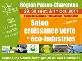 Présentation de la 7ème édition du Salon de la Croissance verte organisé par la Région Poitou-Charentes