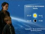 Festival de Loire 2011: La météo de Stéphanie et lucas