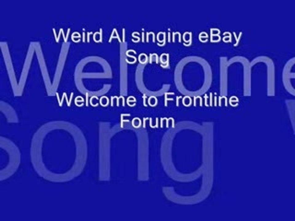 Weird Al Ebay Song Video Dailymotion