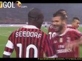 Milan-Cesena 1-0 Gol Clarence Seedorf