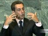 Sûreté et sécurité nucléaire : discours de N. Sarkozy