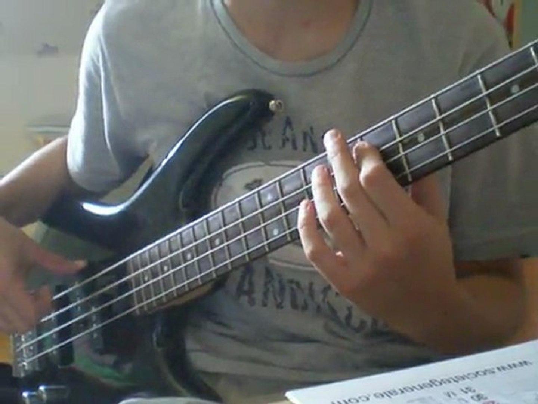 Santana - Europa [basse solo]