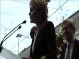 Éternellement KAAS : Discours de Patricia Kaas lors du lancement du Train d'Alzheimer 2011
