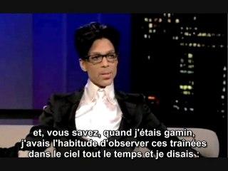 Prince parle des chemtrails (2009)
