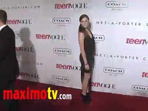 Christa B. Allen at Teen Vogue Young Hollywood Party Arrivals