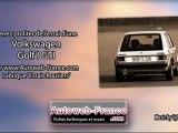 Essai Volkswagen Golf I GTI - Autoweb-France