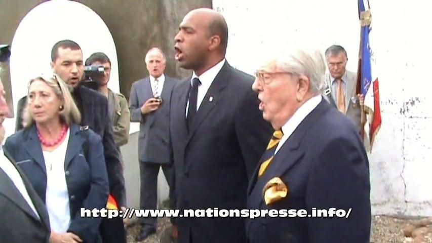 JM Le Pen rend hommage au Bachaga Boualem