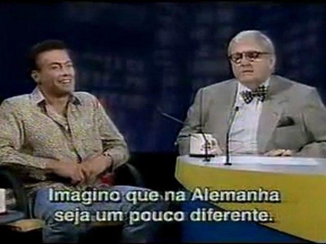ENTREVISTA COM VAN DAMME. JÔ SOARES 11 E MEIA (SBT, 1995): PARTE 3