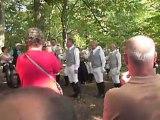 La Sente  sonnée par le Bien Aller Ardennes à Fayen Bois le 25.09.2011