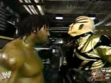 Goldust Dances with Booker T - Raw - 7/8/02