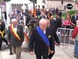 Arles: Jean-Marie Le Pen aux côtés des harkis