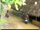 Inundaciones mortales en la India
