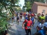 Départ trail de Porquerolles 25 septembre 2011