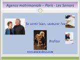 Agence matrimoniale - Paris, les seniors