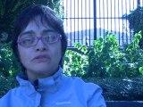 Angela C. dans le couloir de la mort.