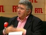 """Claude Allègre, ancien ministre socialiste de l'Education nationale de Lionel Jospin, invité de """"RTL Midi"""" (27 septembre 2011)"""