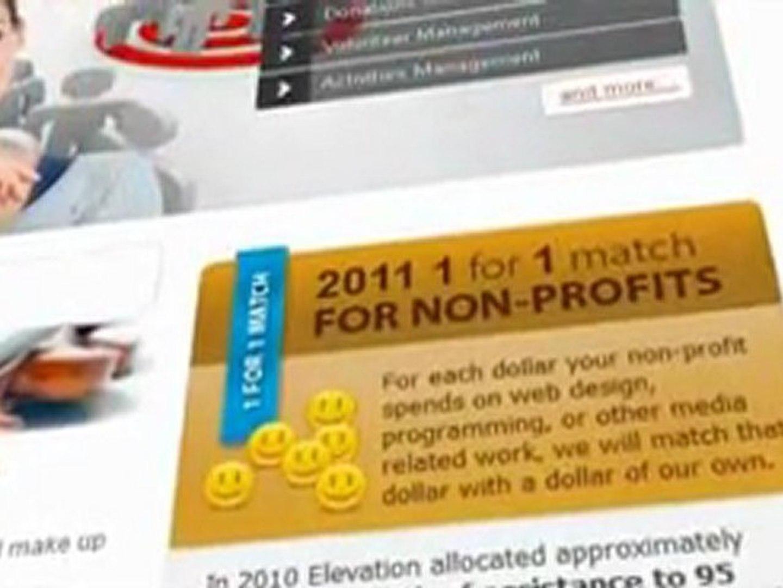 Non Profit Websites - Elevation Group, LLC
