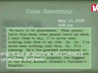 Enregistrement de la voix de Michael Jackson (sous-titré en français)  VOST