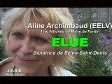 Sénatoriales vues de Noisy-le-Sec : Aline Archimbaud sera la Sénatrice de l'innovation et d'une économie plus humaine [Exclusivité Vidéo]
