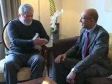 Rencontre entre Harlem Désir et le président Luiz Inàcio Lula Da silva