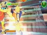 Dragon Ball Z Tenkaichi Tag Team(Full game) Goku Vegeta Vs Broly Kid buu