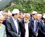 28092011 Müftü İsmail Hatipoğlu nun babasının cenazesi Hanak Ardahan Çaykara Uzuntarla köyü