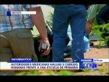Autoridades mexicanas hallan cinco cabezas humanas frente a una escuela primaria en Guerrero