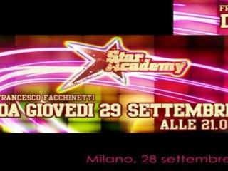 Star Academy - Presentazione Ufficiale Rai 28 settembre 2011 con Francesco Facchinetti e tanti altri