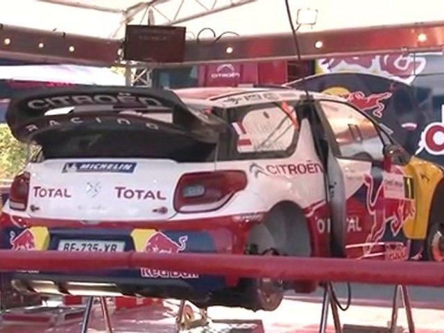 WRC 2011 - Rallye de France - Alsace / Les préparatifs (28/09/2011)