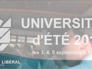 Clip de l'université d'été 2011 à Tours