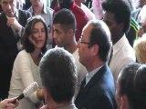François Hollande rencontre avec les jeunes des Mureaux