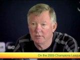 Champions League Final 2010 - Sir Alex Ferguson