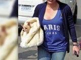Hilary Duff fête son anniversaire avec son chien