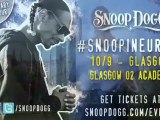 """Doggy Style Records Presents Snoop Dogg """"Doggumentary"""" European Tour Live @ the Academy, Glasgow, Scotland, 10-09-2011"""