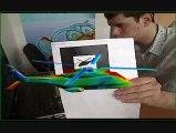 Réalité augmentée et aérodynamique numérique
