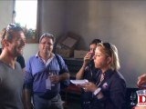 Sébastien Loeb à Gueberschwihr avec les invités de Loeb Events