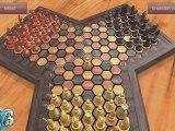 Triad Chess : Présentation des options du jeu sur smartphone - Triade Echecs - App store appstore Android Application 3 players joueurs chessboard échiquier