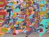 Djamila Belloul, Peintre. Festival d'art contemporain de Saint-Florent-sur-Auzonnet 2011
