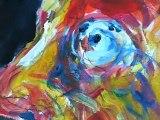 Roland Salti, Peintre. Festival d'art contemporain de Saint-florent-sur-Auzonnet 2011