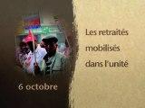 Le 6 octobre   Retraités en manifs dans l'unité - La cgt