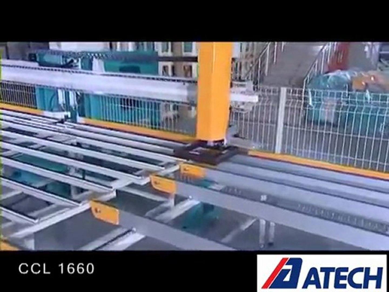 Gouttière Pvc En U ccl 1660-pvc frame production line
