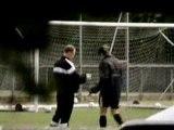 Entrainement de foot d'italie